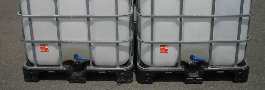 cuves plastique