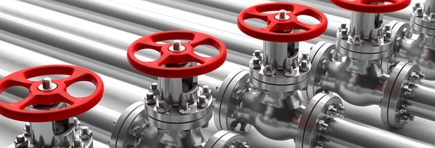 Trouver du matériel de robinetterie industrielle