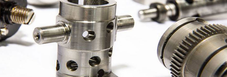 décolletage de pièces mécaniques